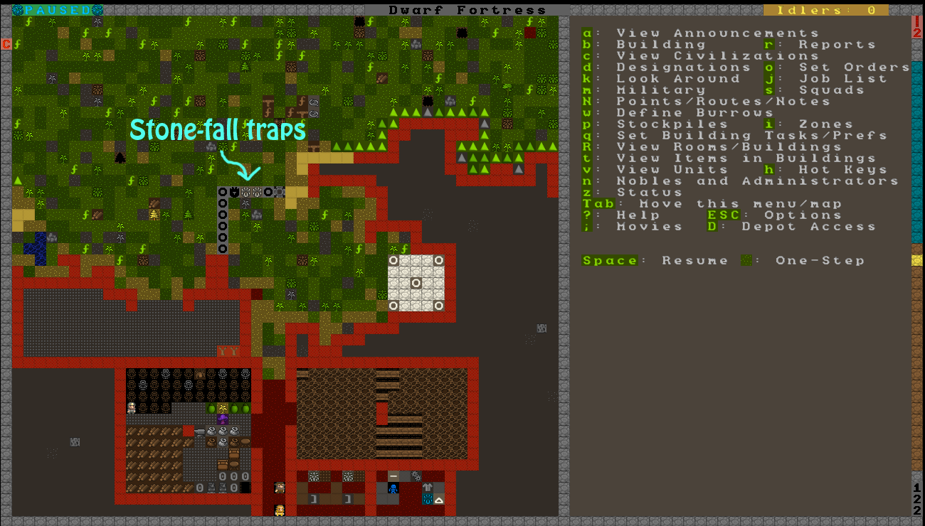 11.0 – DEFENSE! | I Play Dwarf Fortress - (And You Can Too!)